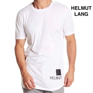 Helmut Lang White Tee NWT Large